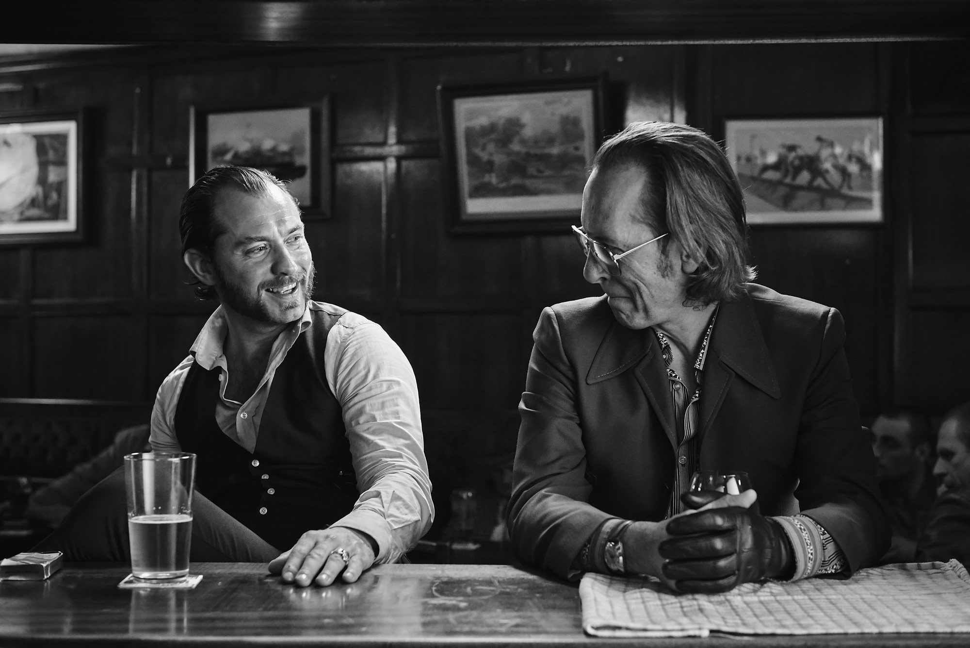 Jude Law and Richard E. Grant | Dom Hemingway