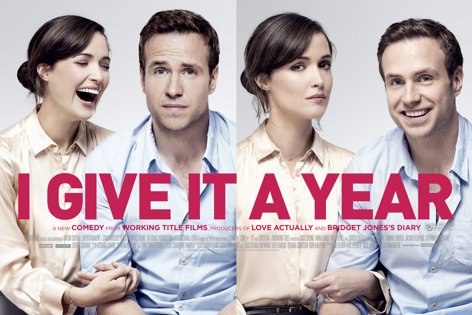 Rose Byrne and Rafe Spall | I Give It a Year