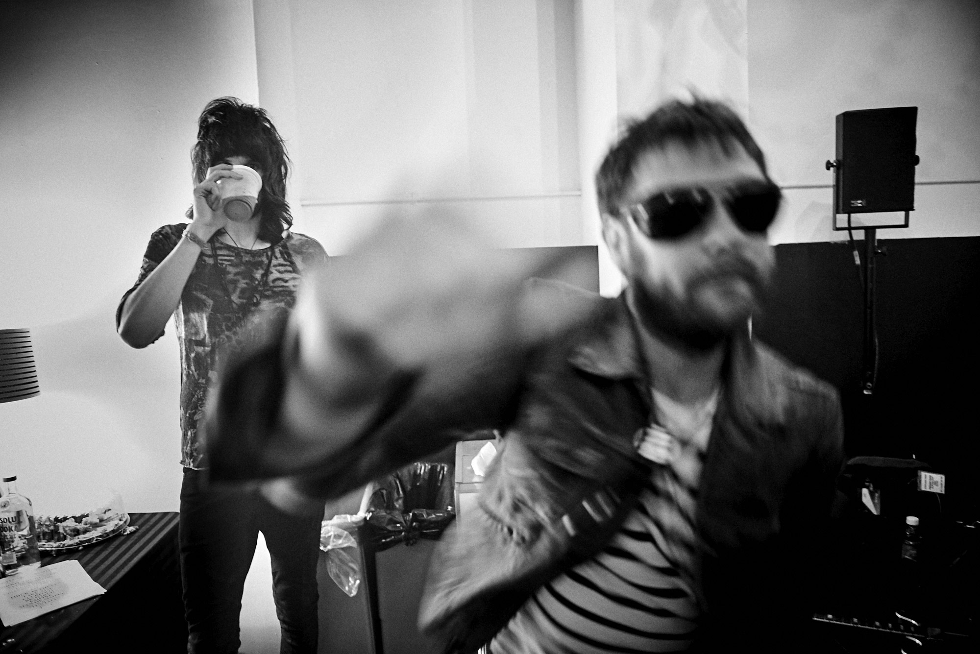 Sergio Pizzorno and Tom Meighan | Kasabian