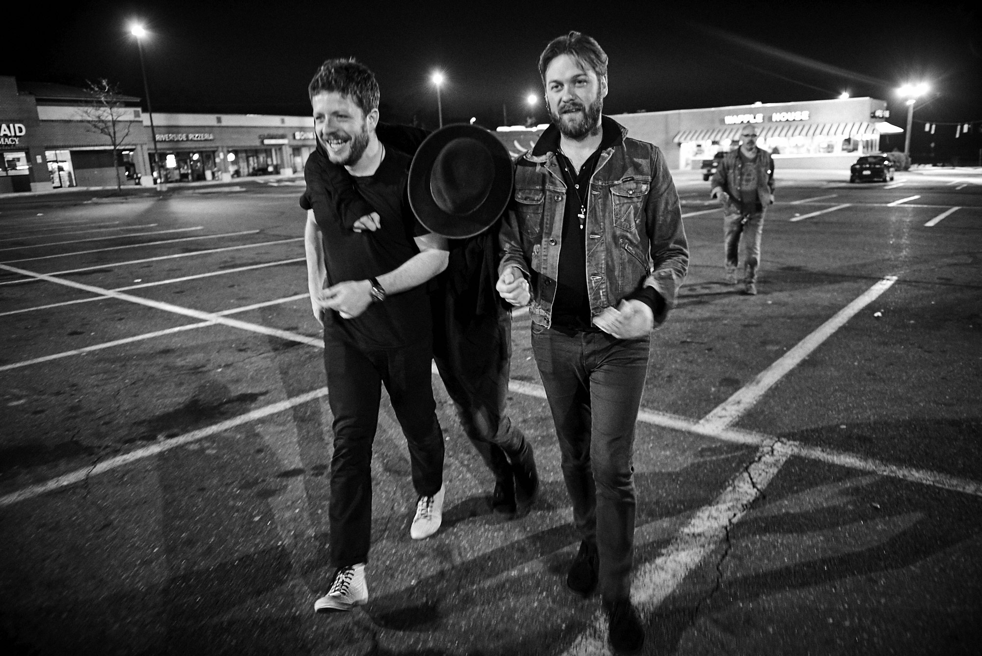 Ben Kealey, Sergio Pizzorno and Tom Meighan | Kasabian