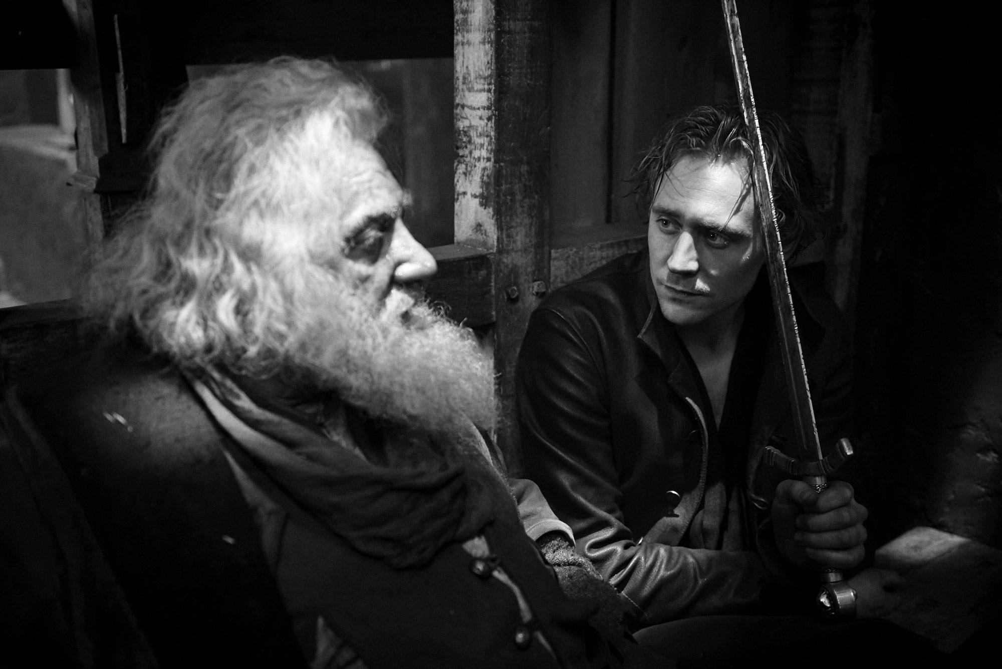 Simon Russell Beale and Tom Hiddleston | The Hollow Crown