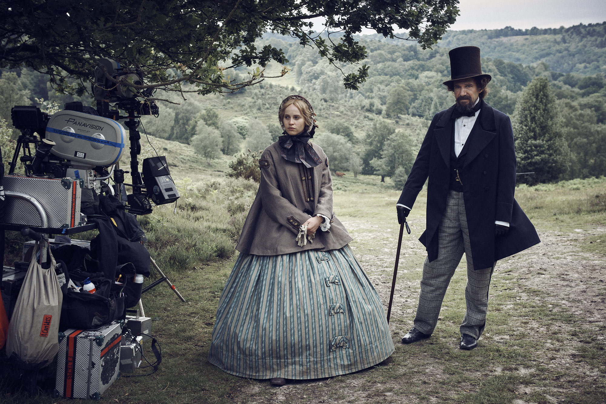 Felicity Jones & Ralph Fiennes | The Invisible Woman