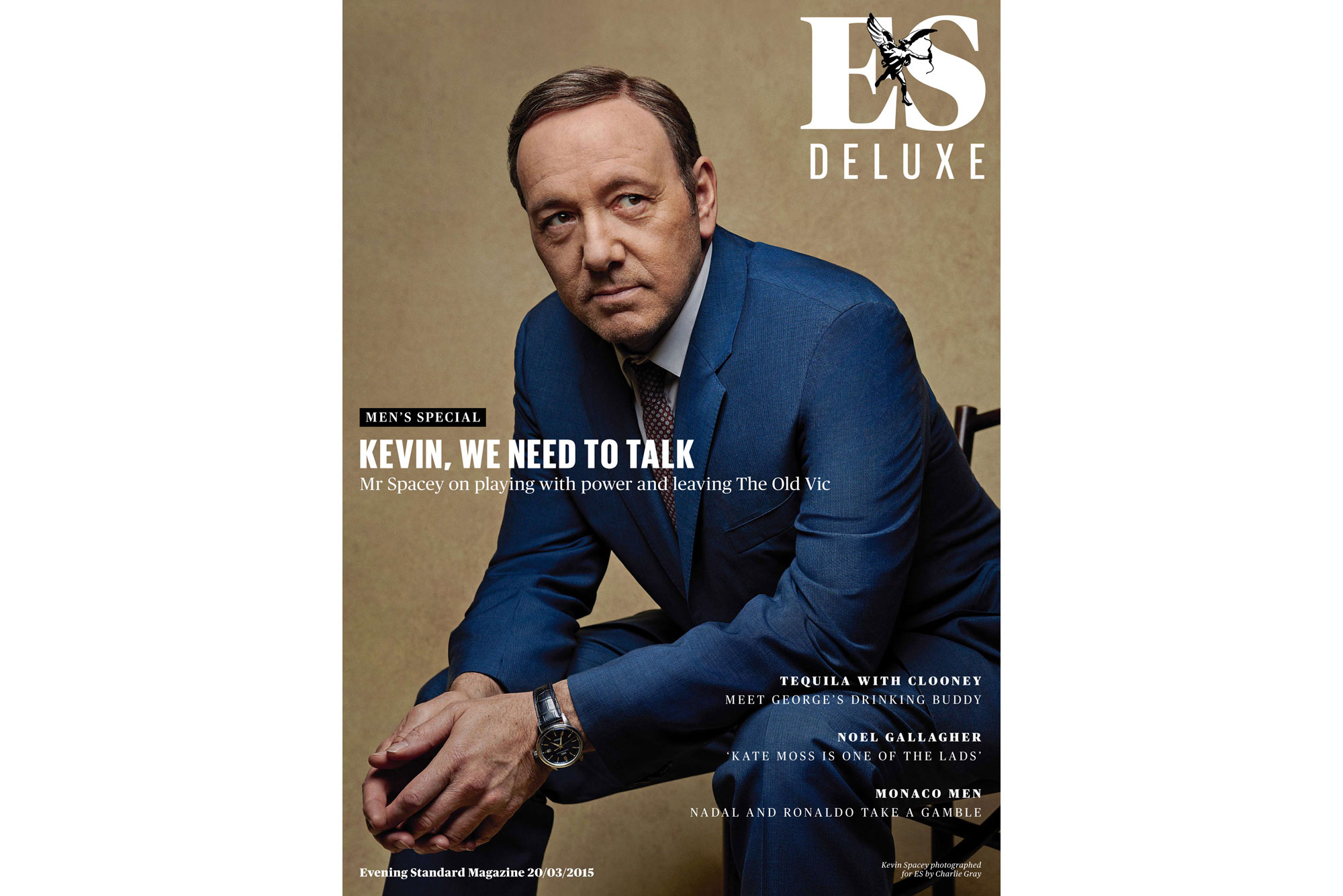 Kevin Spacey by Charlie Gray