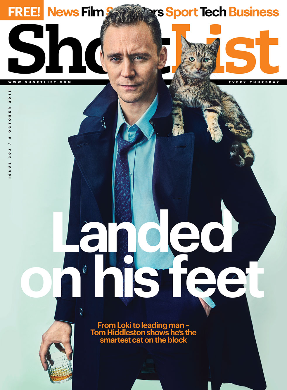 Tom Hiddleston cover