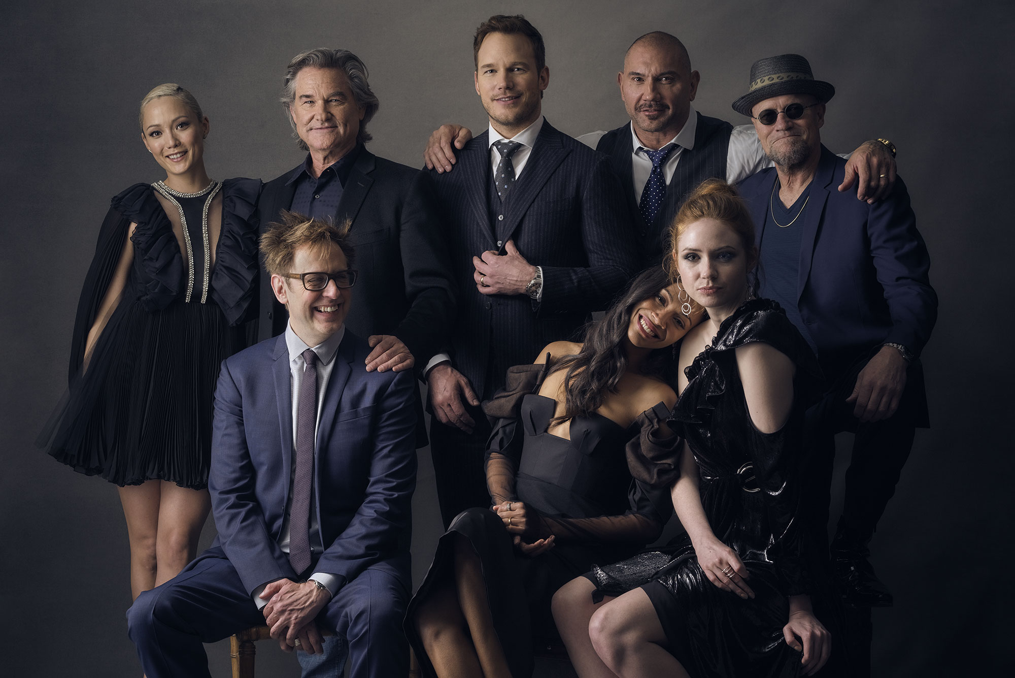 Guardian's of the Galaxy Vol.2 cast and Director James Gunn