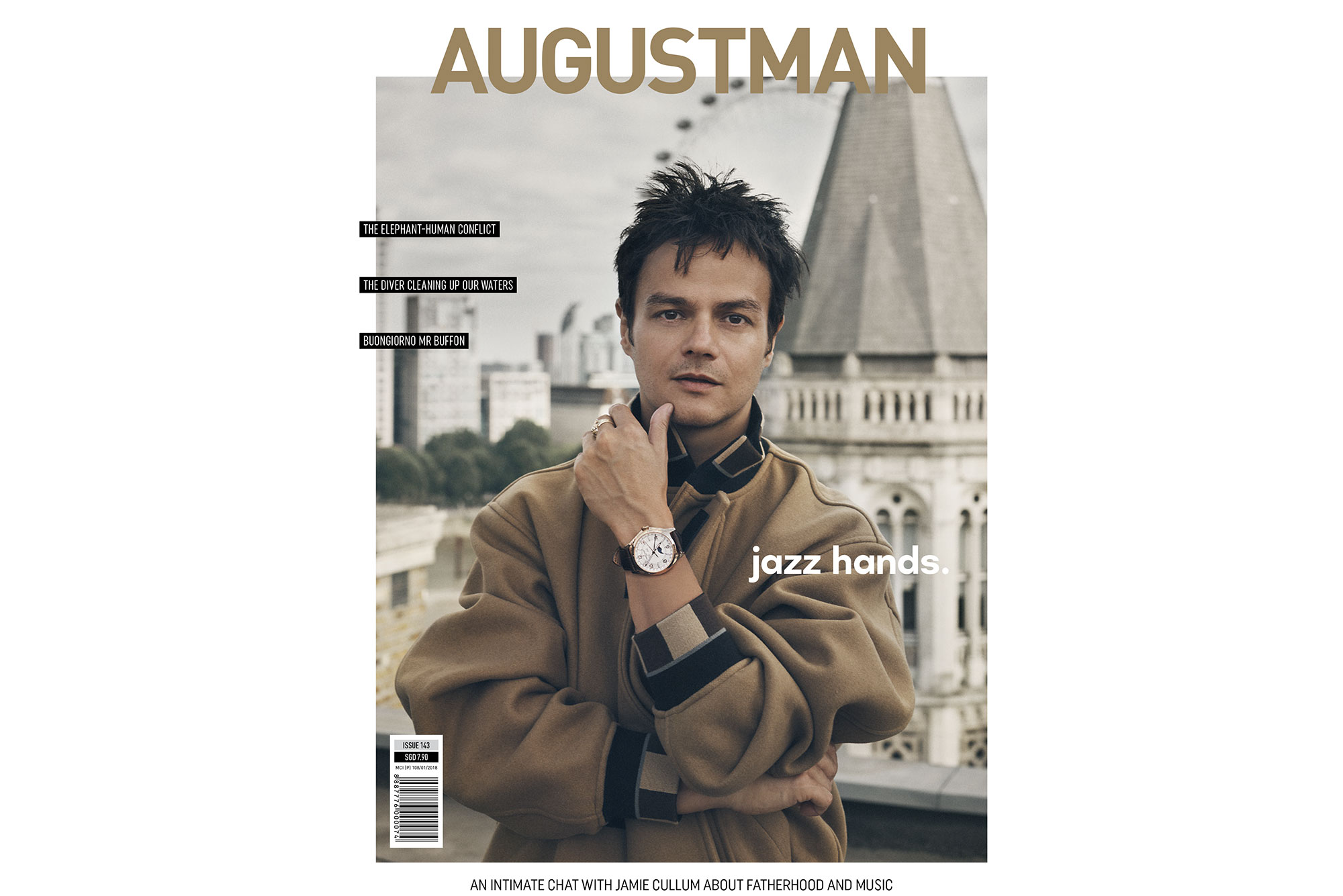 Jamie Cullum for AUGUST MAN